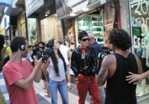 "LAW POP en ""mundo remis"" para America tv!!!"