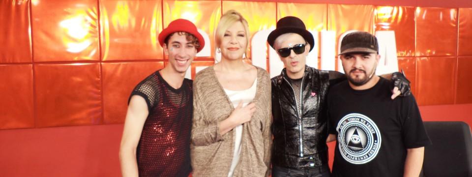 ¡Law Pop regresó a Crónica TV y al programa de Anabela Ascar! (Click en la foto para mas info)