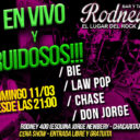 LaW PoP en vivo en Rodney bar
