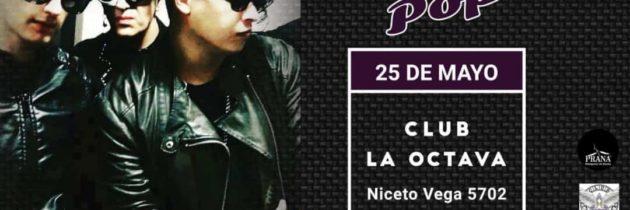 LaW PoP se presentó en La octava tv