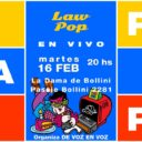 LaW PoP presentó en La dama de Bollini, Recoleta, su nuevo show 2021