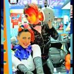 con Gaby bex en Prana sesión x Pablo Vega 2012
