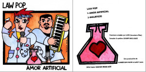 Portada amor artificial ep LaW PoP
