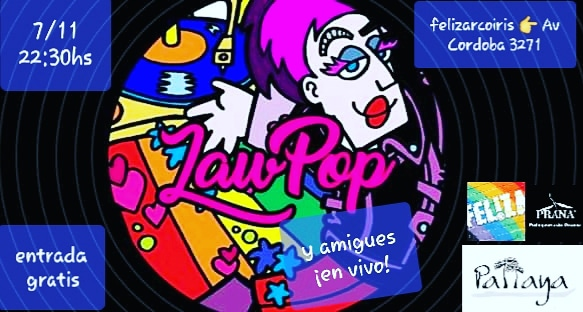 LaW PoP & dj Francis Dhuit en vivo en Feliza bar, gratis